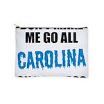 Carolina Football Makeup Pouch