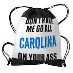 Carolina Football Drawstring Bag