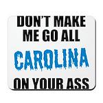 Carolina Football Mousepad