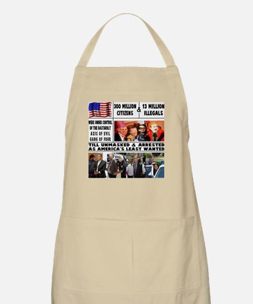 GANG OF FOUR BBQ Apron