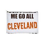 Cleveland Football Makeup Pouch