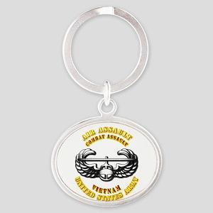 Emblem - Air Assault - Cbt Aslt - Vietnam Oval Key