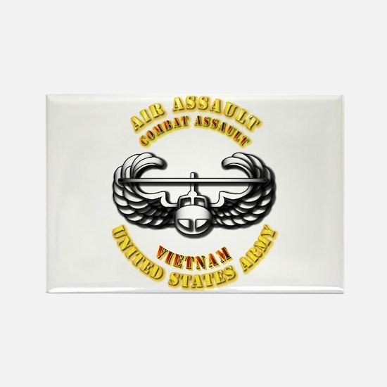 Emblem - Air Assault - Cbt Aslt - Vietnam Rectangl