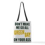 Green Bay Football Polyester Tote Bag