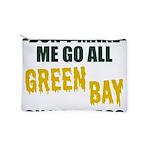 Green Bay Football Makeup Pouch