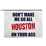 Houston Football Makeup Pouch