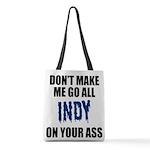 Indianapolis Football Polyester Tote Bag