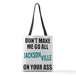 Jacksonville Football Polyester Tote Bag