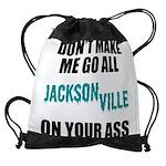 Jacksonville Football Drawstring Bag