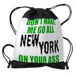 New York Football Drawstring Bag
