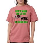 New York Football Womens Comfort Colors Shirt