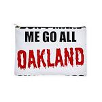Oakland Football Makeup Pouch