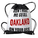 Oakland Football Drawstring Bag