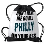 Philadelphia Football Drawstring Bag