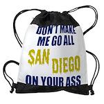 San Diego Football Drawstring Bag