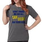 San Diego Football Womens Comfort Colors Shirt