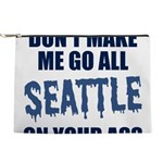 Seattle Football Makeup Pouch