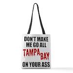 Tampa Bay Football Polyester Tote Bag