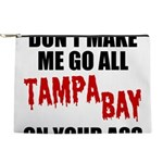 Tampa Bay Football Makeup Pouch