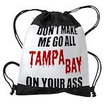Tampa Bay Football Drawstring Bag