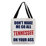 Tennessee Football Polyester Tote Bag