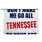 Tennessee Football Makeup Pouch