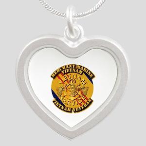 USMM - Merchant Marine - Vietnam Vet Silver Heart