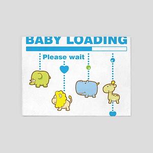 Baby boy loading 5'x7'Area Rug