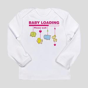 Baby girl loading Long Sleeve T-Shirt