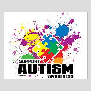 Autism Paint Splatter Posters