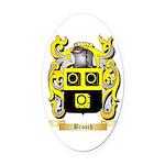 Brosch Oval Car Magnet