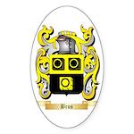 Bros Sticker (Oval)