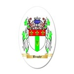 Brophy 20x12 Oval Wall Decal