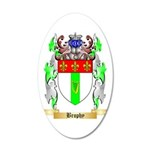 Brophy 35x21 Oval Wall Decal