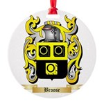 Broose Round Ornament