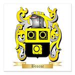 Broose Square Car Magnet 3