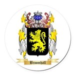 Broomhall Round Car Magnet