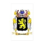 Broomhall Sticker (Rectangle 50 pk)