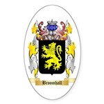 Broomhall Sticker (Oval 50 pk)