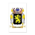 Broomhall 35x21 Wall Decal