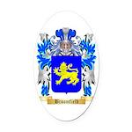 Broomfield Oval Car Magnet