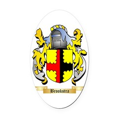 Brookstra Oval Car Magnet
