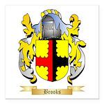 Brooks Square Car Magnet 3
