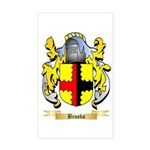 Brooks Sticker (Rectangle)