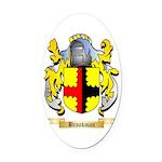 Brookman Oval Car Magnet
