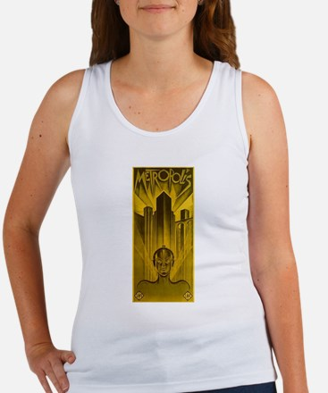 Metropolis 1927 Movie Poster Tank Top