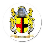 Brooking Round Car Magnet