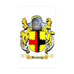 Brooking Sticker (Rectangle 50 pk)
