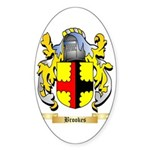 Brookes Sticker (Oval 50 pk)