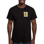 Brooker Men's Fitted T-Shirt (dark)